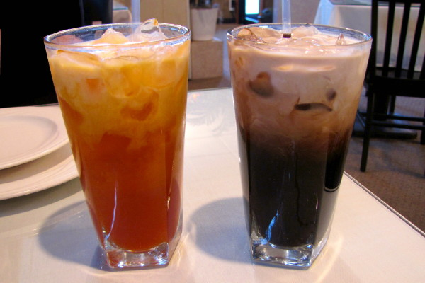 Iced Tea and Iced Coffee