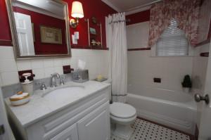 1950's Bathroom prior t renovation.